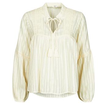 Kleidung Damen Tops / Blusen Only ONLNEW ELISA Beige