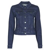 Abbigliamento Donna Giacche in jeans JDY JDYNEWWINNER STR JACKET BOX DNM NOOS