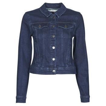 Kleidung Damen Jeansjacken JDY JDYNEWWINNER STR JACKET BOX DNM NOOS Blau