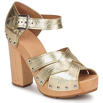 Schuhe Damen Sandalen / Sandaletten Marc by Marc Jacobs VENTA Gold