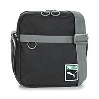 Taschen Herren Geldtasche / Handtasche Puma ORIGINAL PORTABL RETRO.BLK Grau