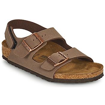 Schuhe Jungen Sandalen / Sandaletten Birkenstock MILANO HL Braun,