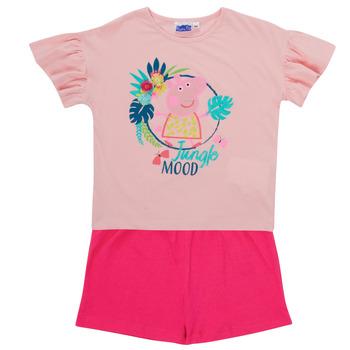 Vêtements Fille Ensembles enfant TEAM HEROES  PEPPA PIG SET