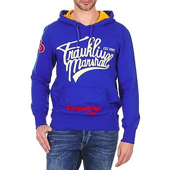 Kleidung Herren Sweatshirts Franklin & Marshall SUNBURY Blau
