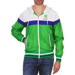 Abbigliamento Uomo Giubbotti Franklin & Marshall MELBOURNE Verde / Bianco / Blu