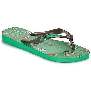 Schuhe Jungen Zehensandalen Havaianas KIDS MINECRAFT