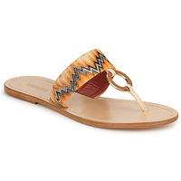 Schuhe Damen Zehensandalen Missoni VM048 Orange