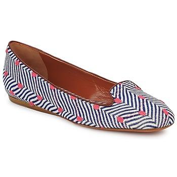 Schuhe Damen Slipper Missoni VM036 Blau / Rose