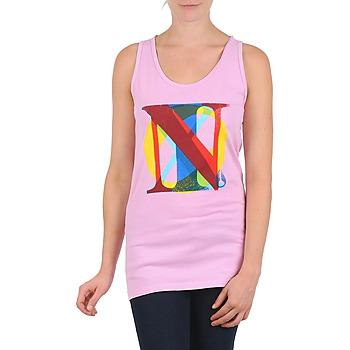 Abbigliamento Donna Top / T-shirt senza maniche Nixon PACIFIC TANK Rosa / Multicolore
