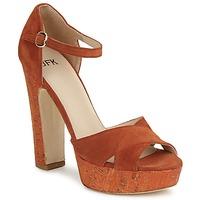 Schuhe Damen Sandalen / Sandaletten JFK  Orange