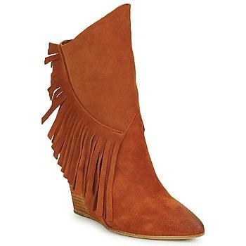 Schuhe Damen Low Boots Strategia FRANGIO Braun