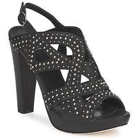 Schuhe Damen Sandalen / Sandaletten Strategia CLOUCLOU Schwarz