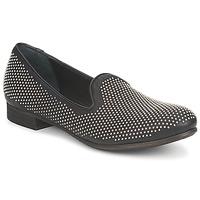 Schuhe Damen Slipper Strategia CLOUPI Schwarz