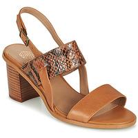 Schuhe Damen Sandalen / Sandaletten Karston LIMEY Kamel