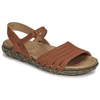 Schuhe Damen Sandalen / Sandaletten El Naturalista SOFT Braun,
