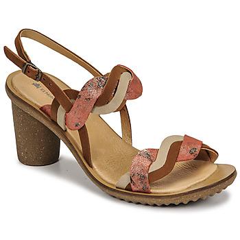 Schuhe Damen Pumps El Naturalista FANTASY Braun,
