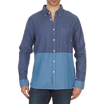Vêtements Homme Chemises manches longues Element BRENTWOOD Bleu