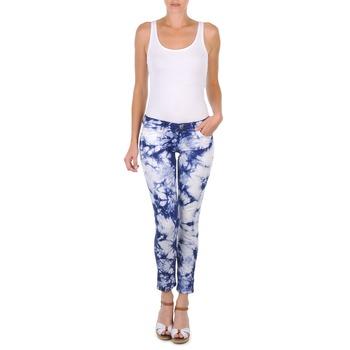 Kleidung Damen 3/4 Hosen & 7/8 Hosen Cimarron CLARA TIE DYE Blau