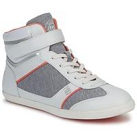 Schuhe Damen Sneaker High Dorotennis MONTANTE VELCRO Grau