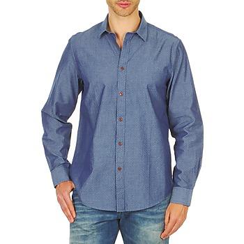 Abbigliamento Uomo Camicie maniche lunghe Ben Sherman BEMA00490 Blu