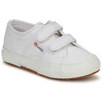 Scarpe Unisex bambino Sneakers basse Superga 2750 STRAP Bianco