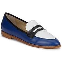 Chaussures Femme Mocassins Etro MOCASSIN 3767 Bleu / Noir / Blanc