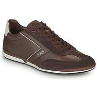 Schuhe Herren Sneaker Low BOSS Saturn_Lowp_ltal Braun,