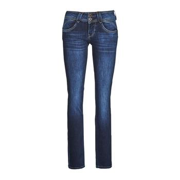 Kleidung Damen Straight Leg Jeans Pepe jeans NEW GEN Blau