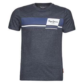 Kleidung Herren T-Shirts Pepe jeans KADE Blau