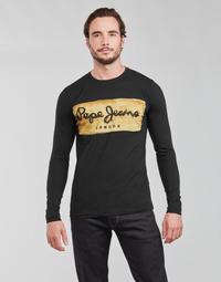 Abbigliamento Uomo T-shirts a maniche lunghe Pepe jeans CHARING LS