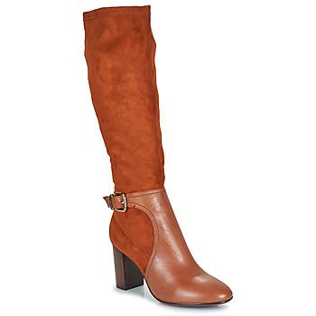 Schuhe Damen Klassische Stiefel JB Martin 3VILLE Braun,