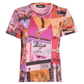 Vêtements Femme T-shirts manches courtes Desigual PROCLAIM