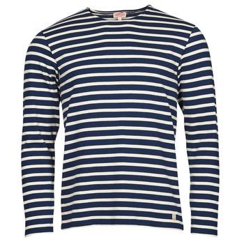 Vêtements Homme T-shirts manches longues Armor Lux MARINIERES RUSTIQUE BIO GA1