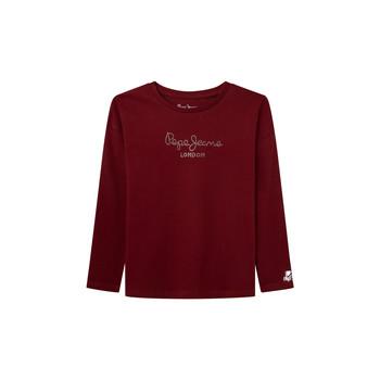 Abbigliamento Bambina T-shirts a maniche lunghe Pepe jeans NURIA LS