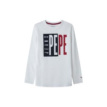 Abbigliamento Bambino T-shirts a maniche lunghe Pepe jeans AARON