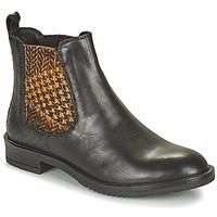 Chaussures Femme Boots Café Noir FRETINA