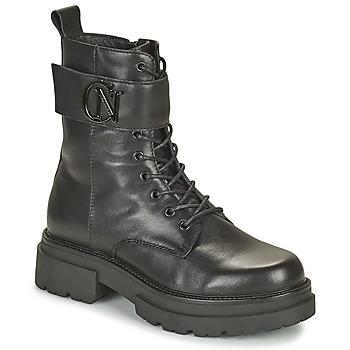 Chaussures Femme Boots Café Noir KINNEA