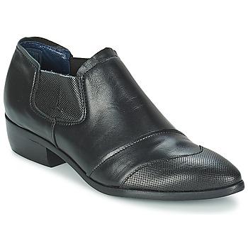 Schuhe Damen Boots Stephane Gontard DELIRE Schwarz