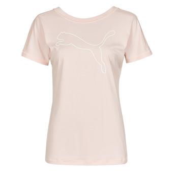 Abbigliamento Donna T-shirt maniche corte Puma TRAIN FAVORITE JERSEY CAT TEE