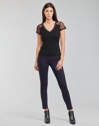 Kleidung Damen 5-Pocket-Hosen Morgan PETRA Marineblau