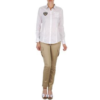 Abbigliamento Donna Pantaloni 5 tasche Napapijri MYOSA Beige