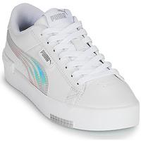 Schuhe Mädchen Sneaker Low Puma JADA RAINBOW JR Weiß / Bunt