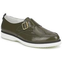 Schuhe Damen Slipper McQ Alexander McQueen 308658 Grün