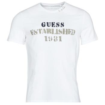 Abbigliamento Uomo T-shirt maniche corte Guess WORKFOR CN SS TEE