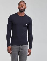 Abbigliamento Uomo T-shirts a maniche lunghe Guess CN LS CORE TEE