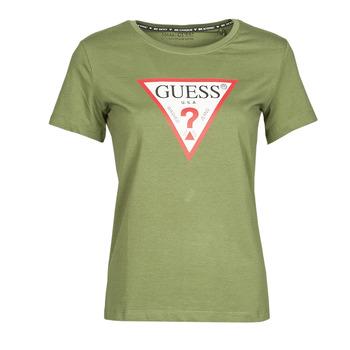 Abbigliamento Donna T-shirt maniche corte Guess SS CN ORIGINAL TEE