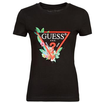 Abbigliamento Donna T-shirt maniche corte Guess SS CN NORA TEE