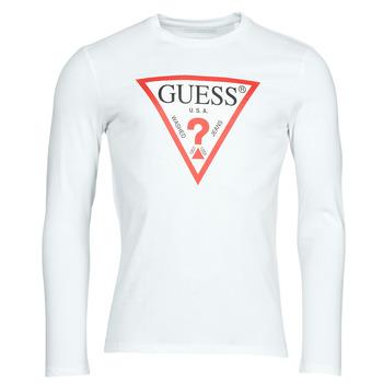 Abbigliamento Uomo T-shirts a maniche lunghe Guess CN LS ORIGINAL LOGO TEE