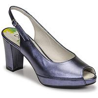 Schuhe Damen Pumps Dorking MODALIA Marineblau