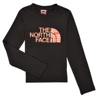 Abbigliamento Bambino T-shirts a maniche lunghe The North Face EASY TEE LS